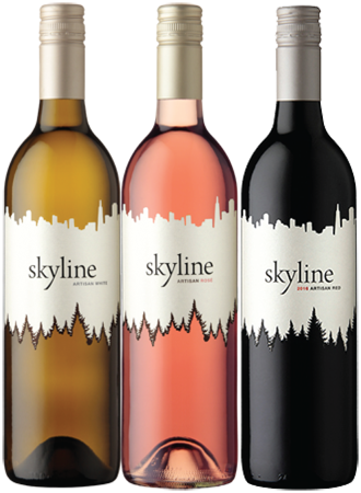 Mixed Case of Skyline Red, White, & Rosé